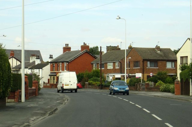 Fleetwood Road North in Thornton
