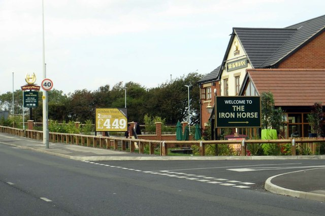 The Iron Horse on Fleetwood Road North