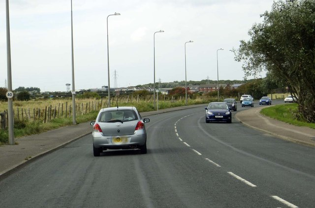 The B5268 to Fleetwood