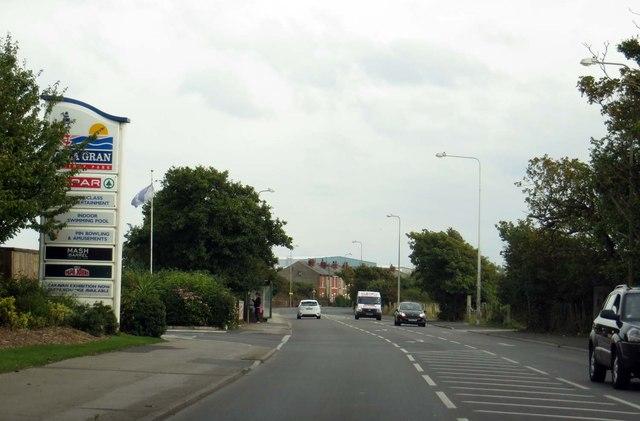 Fleetwood Road by the Cala Gran Caravan Park