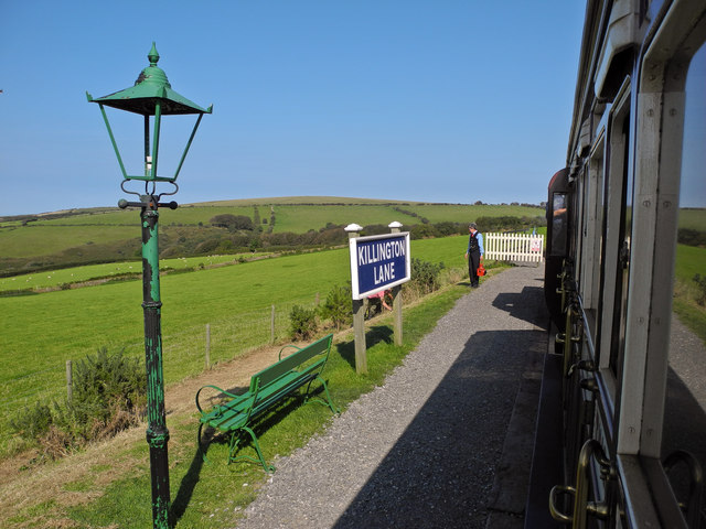 Killington Lane Station on Exmoor