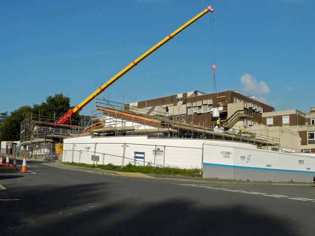 Work continues on the Chemotherapy Unit at North Devon District Hospital