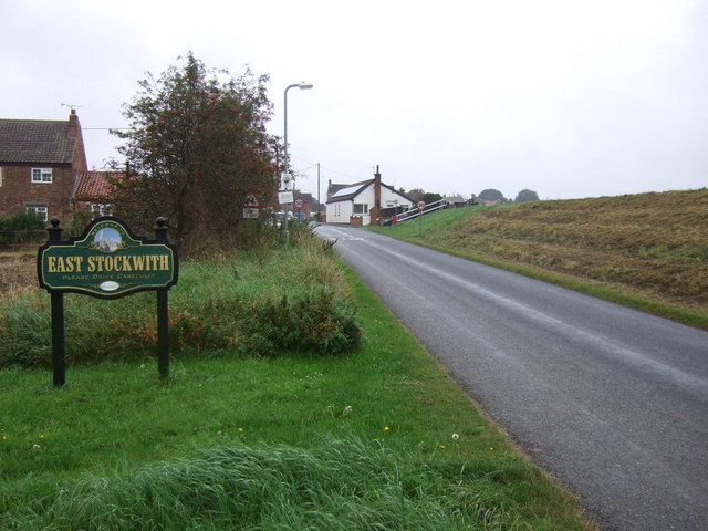 Entering East Stocwith