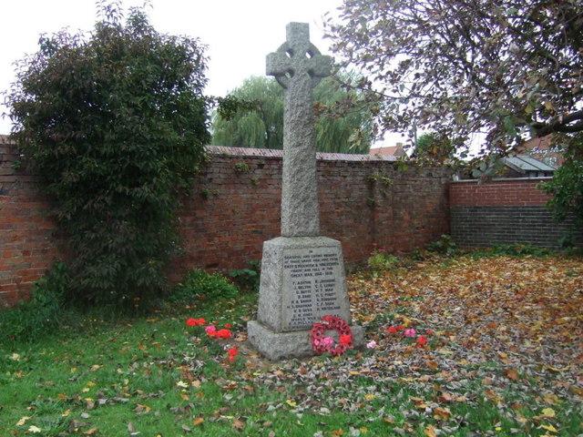 War Memorial, East Stockwith