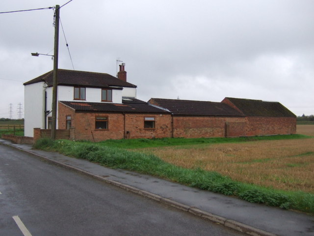 House with outbuildings