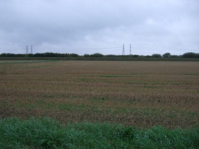 Farmland towards the River Trent