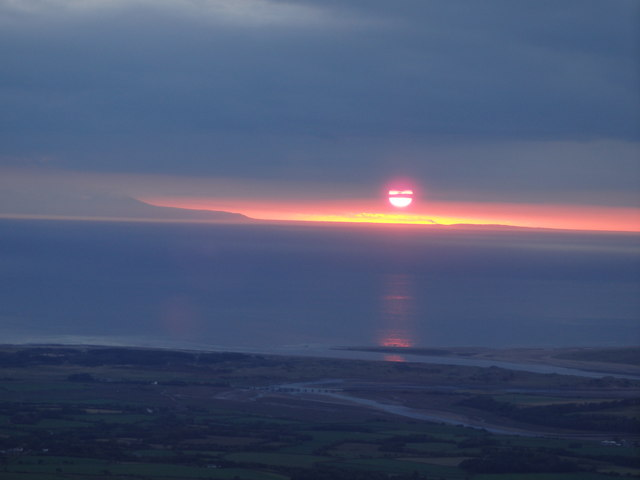 Sunset from Stainton Pike