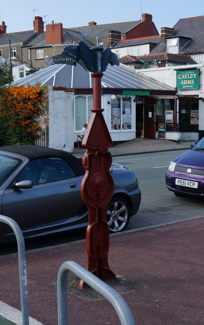 National Cycle Marker Post