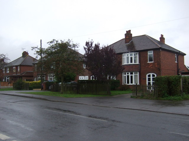 Houses on Walkerith Road, Morton