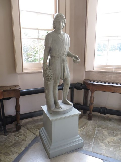 Second statue