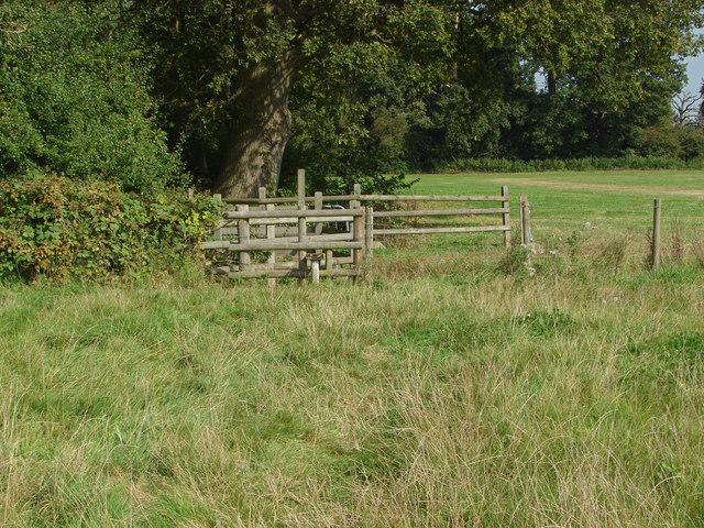 Stile, Loseley Park