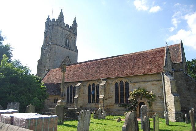 Church of St Mary, Chiddingstone