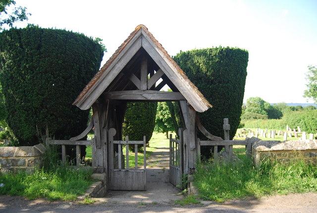 Lych gate, Chiddingstone Cemetery