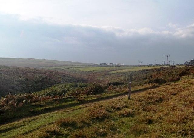 Bridleway by Fox Clough