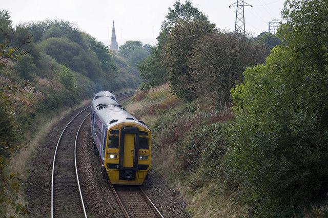 Railway at Accrington