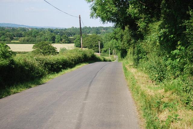 Descending Hampkins Hill