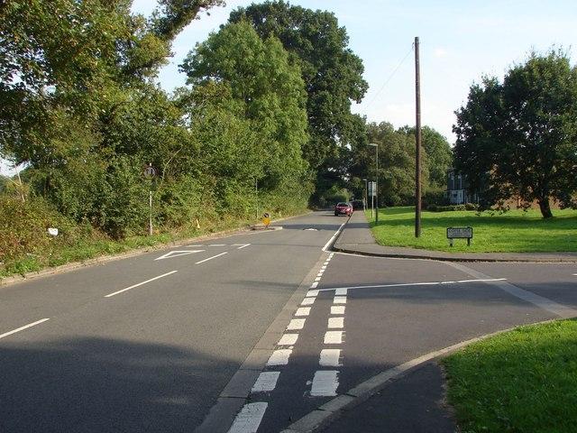Green lane, Binscombe