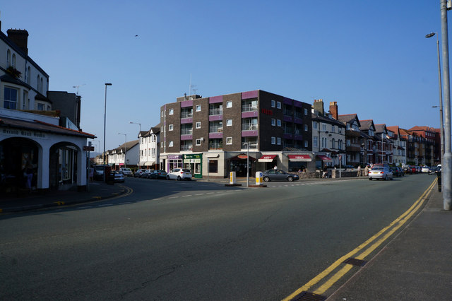 Shops on Penrhyn Avenue, Rhos on Sea