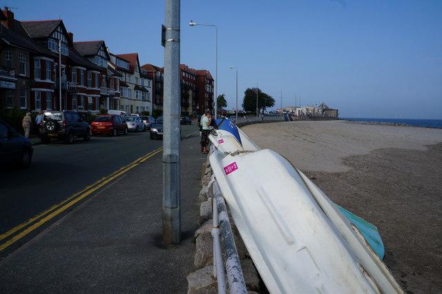 Rhos Promenade, Rhos on Sea