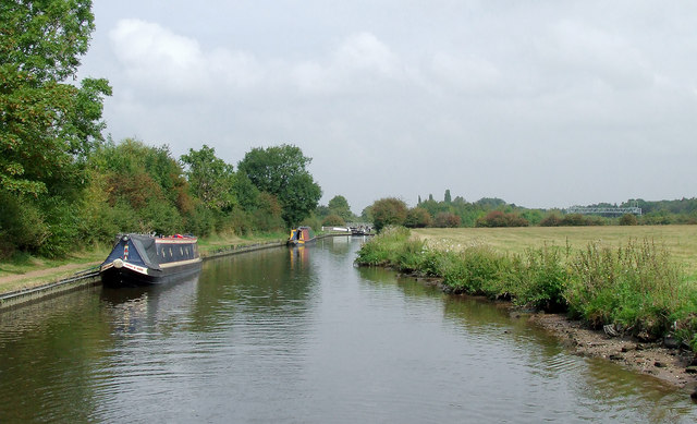 Canal north of Penkridge, Staffordshire