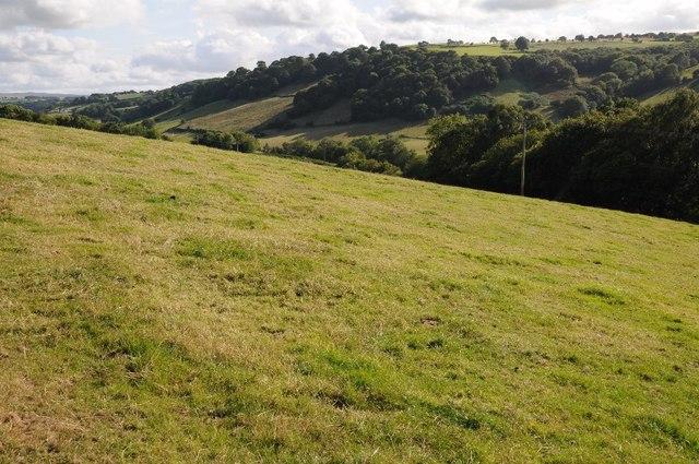 The Dyffryn Aled valley