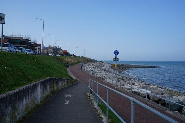 Wales  Coast Path towards Penrhyn Bay