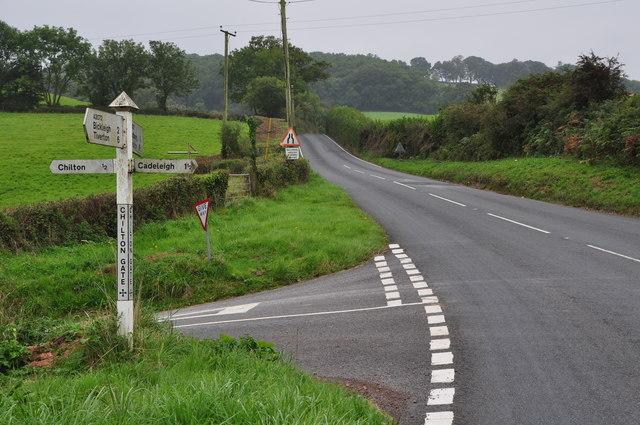 Mid Devon : Chilton Gate Cross