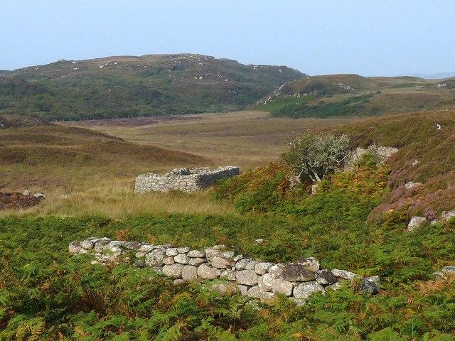 Ruins, Cille Mhuire clachan, Isle of Mull