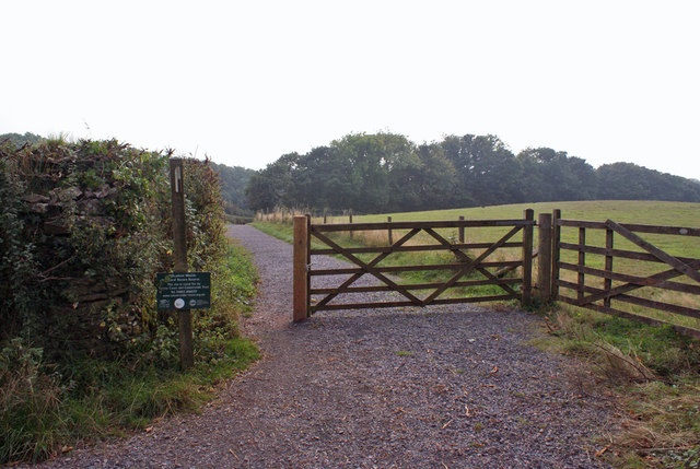 Entrance to Scadson Woods Nature Reserve