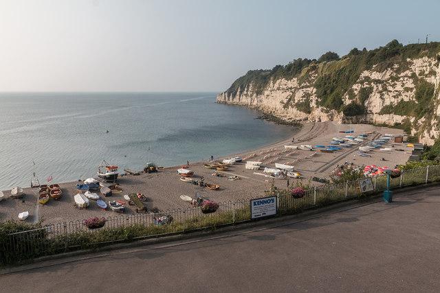 Beach at Beer, Devon
