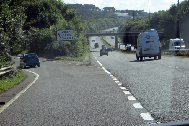 Leaving the A30