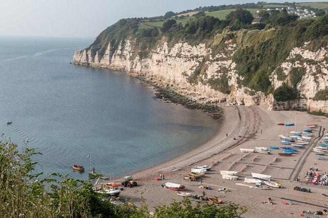 Beach, Beer, Devon