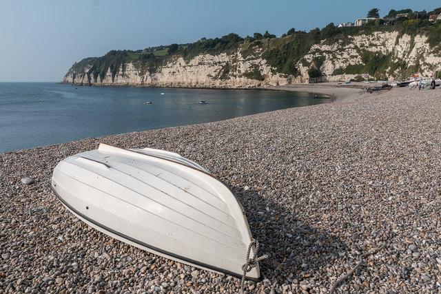 Boat on the Beach, Beer, Devon