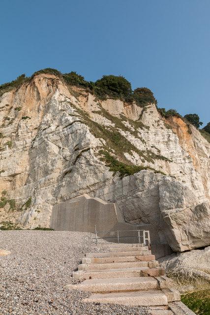 Cliff Repairs and Steps, Beer, Devon