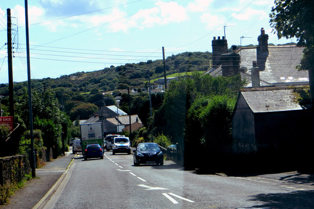 On the way to Redruth