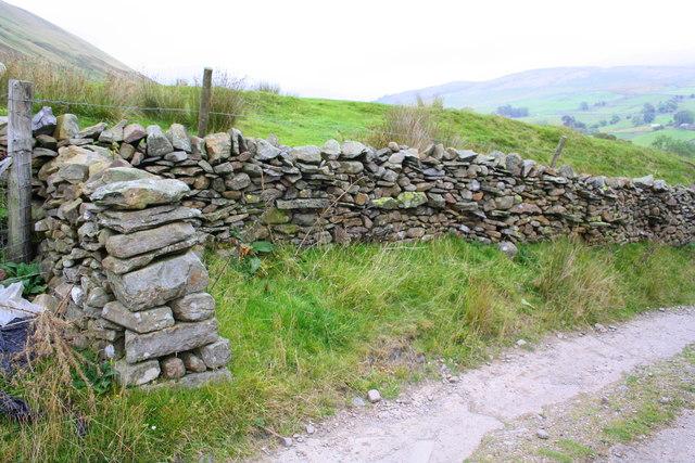 Dry stone walls at High Sprintgill