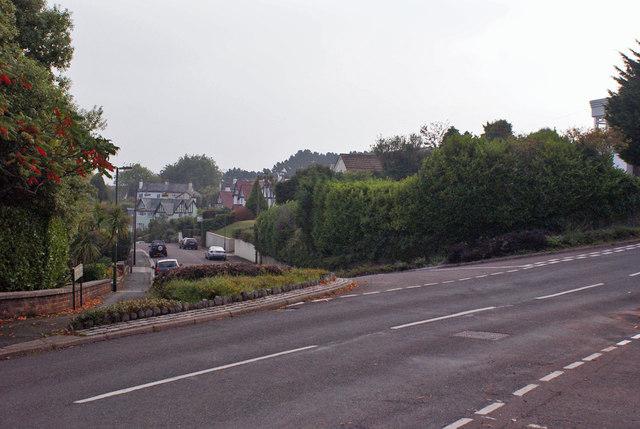 Suburban crossroads in Livermead