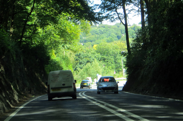 On the A39