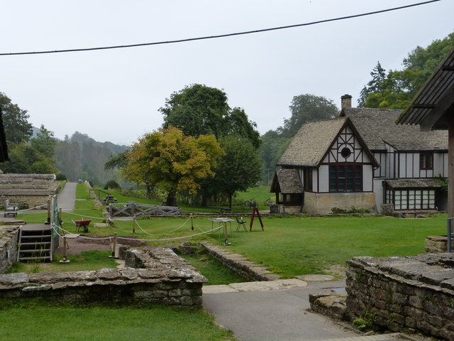 The setting for Chedworth Villa