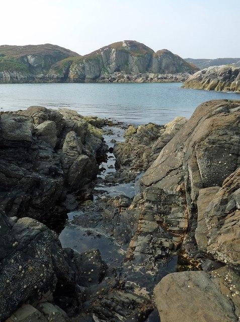 View towards Eilean Mòr, Isle of Mull