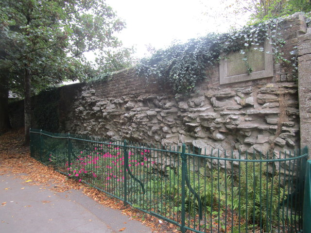 Remains of the Roman Wall