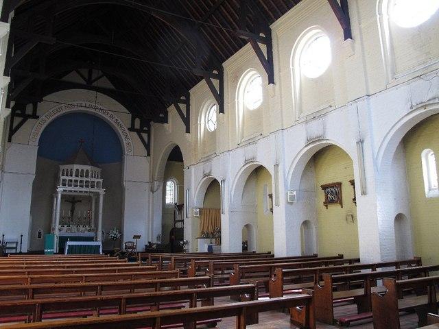 Church of the Most Precious Blood: interior