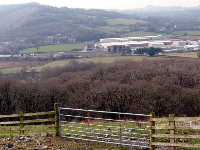 Llwybr Pistyll Canol Path