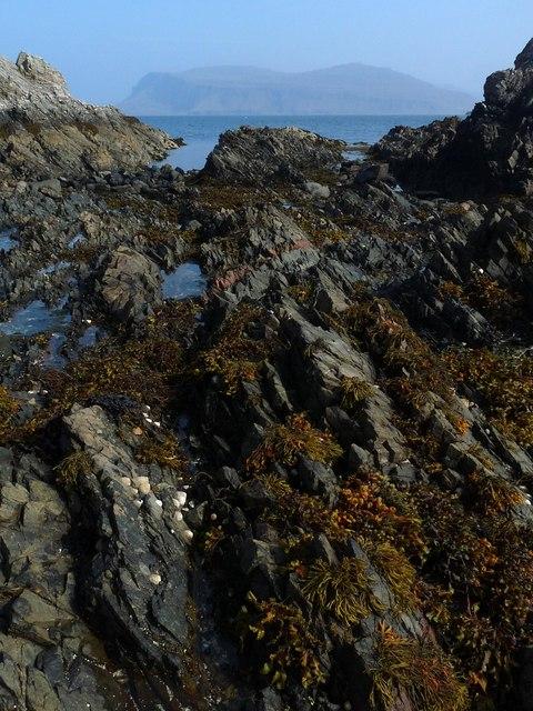 Coastline, Rubha na Tràighe-maoraich, Isle of Mull