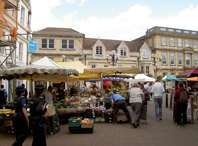 Market day in Trowbridge
