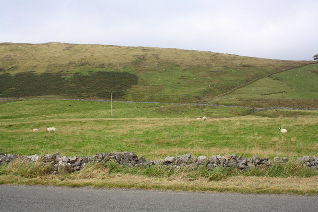 A683 below Harterfell Brow