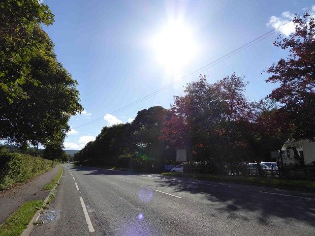 A6187 near Riverside garden centre