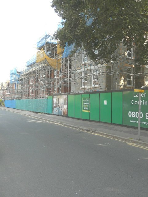 Later living apartments, Christ Church Road