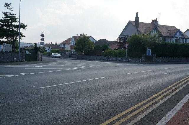 St David's Road off Glan-Y-Mor Road, Penrhyn Bay