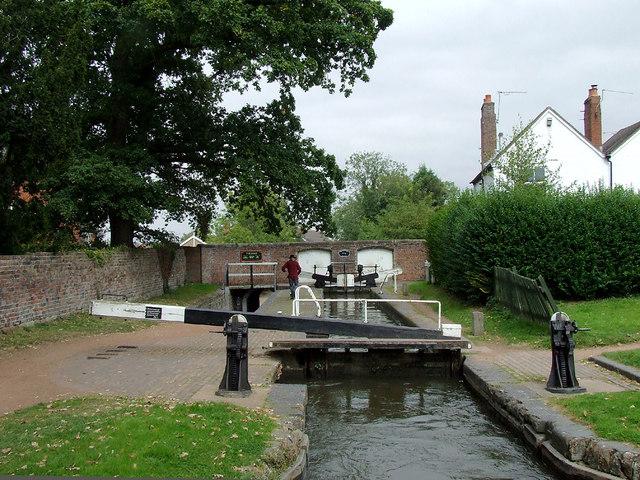 Penkridge Lock, Staffordshire